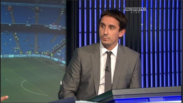 Gary Neville - Sky Sports Football Commentator (4)