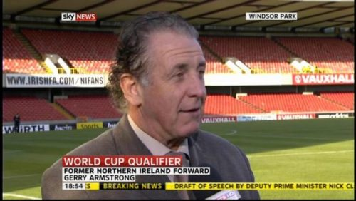 Gerry Armstrong - Sky Sports Football Commentator (2)