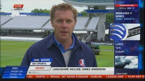 Ian Ward - Sky Sports Cricket (2)
