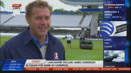 Ian Ward - Sky Sports Cricket (4)