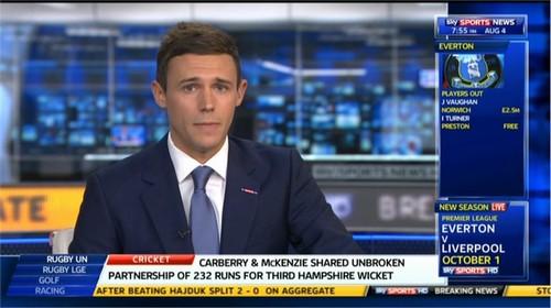 Tom White Sky Sports News Presenter (2)