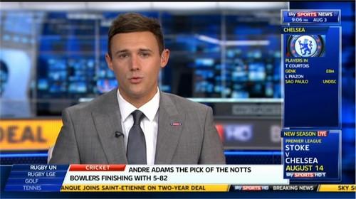 Tom White Sky Sports News Presenter (3)