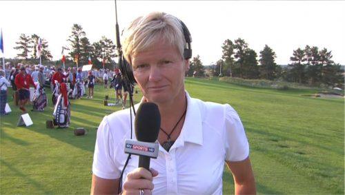 Image of Trish Johnson - Sky Sports (2)