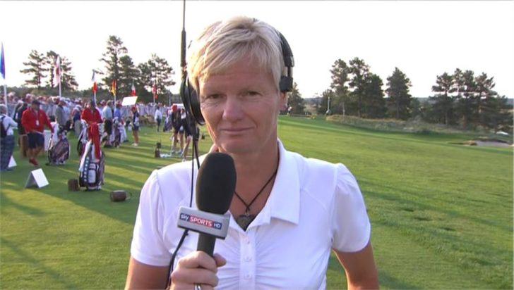 Image of Trish Johnson - Sky Sports (3)