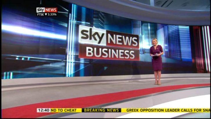 Business presenter Sam Washington joins Sky News