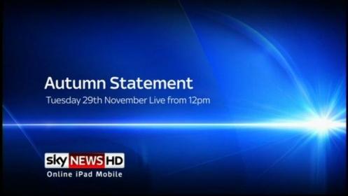Autumn Statement 2014: Live on BBC, Sky News (TV / Online)