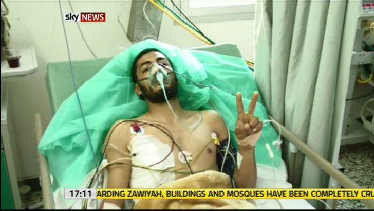 Image from Sky News' Battle of Zawiah
