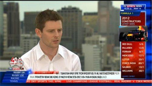 Anthony Davidson - Sky Sports F1 Presenter (2)