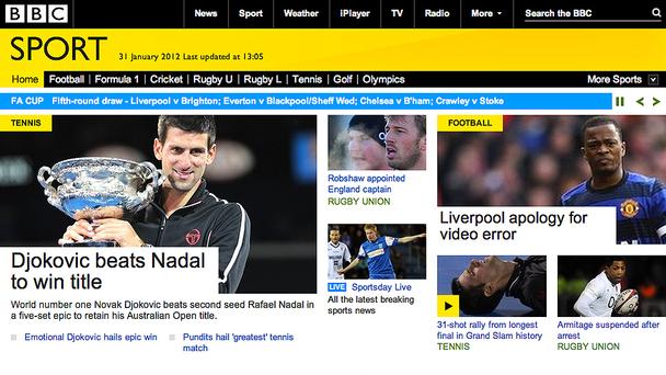 BBC Sport Website