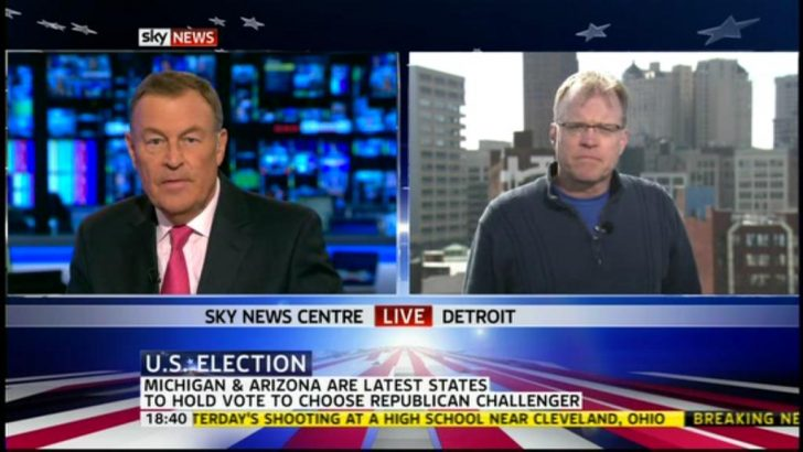 Sky News available in America and Canada via Livestation