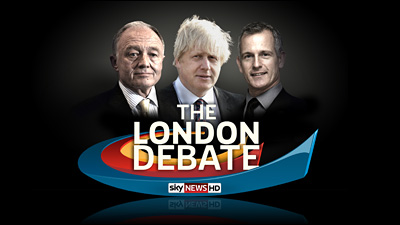 Sky News Special – The London Debate – Live 19th April, 8pm