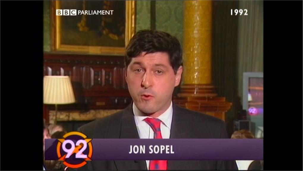 Jon Sopel - BBC PARLMNT Election 92 04-09 11-15-09 (3)