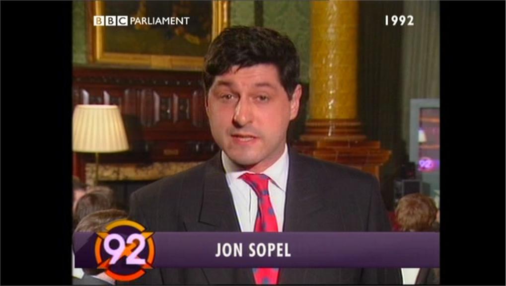 Jon Sopel - BBC PARLMNT Election 92 04-09 11-15-09 (4)