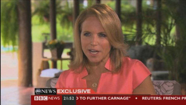 Images: ABC News' Katie Couric interviews Princes William and Harry