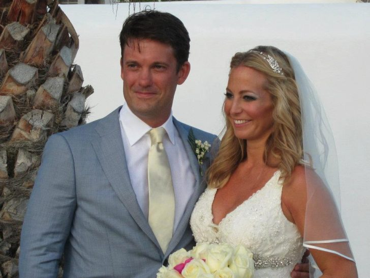 Keir Simmons and his wife Jessica