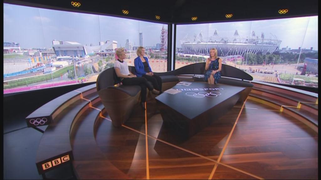 Images: BBC's London 2012 Studio