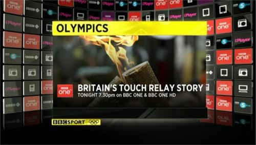 Example of BBC Sports graphics during London 2012 (4)