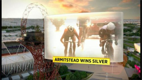 Example of BBC Sports graphics during London 2012 (6)