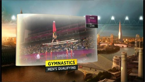 Example of BBC Sports graphics during London 2012 (9)