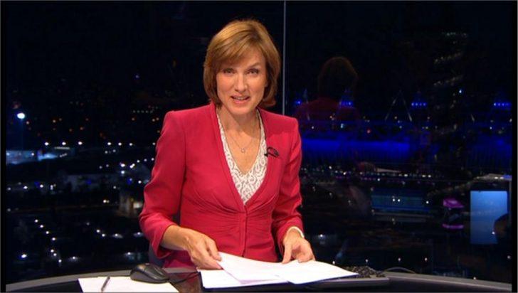 Fiona Bruce Presents from London 2012 Studio (4)