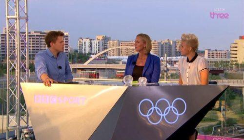 Images of BBC Three's Olympics Studio (1)