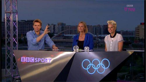 Images of BBC Three's Olympics Studio (2)