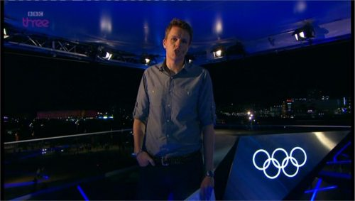 Images of BBC Three's Olympics Studio (3)
