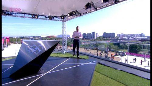Images of BBC Three's Olympics Studio (4)