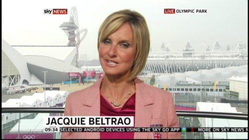Jacquie Beltrao presents in Olympic Jacket (1)