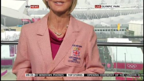Jacquie Beltrao presents in Olympic Jacket (2)