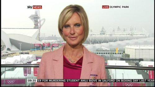 Jacquie Beltrao presents in Olympic Jacket (4)
