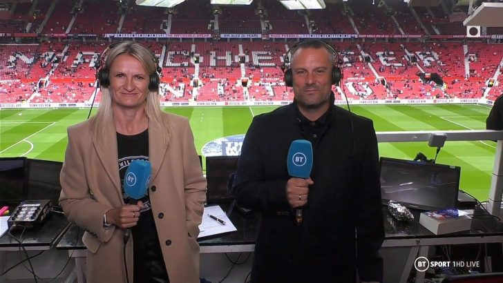 Lucy Ward - BT Sport Commentator (1)