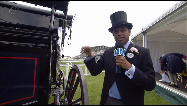 Rishi Persad - Channel 4 Racing