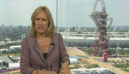 Sophie Raworth Presents from Olympic Park (3)
