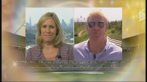 Sophie Raworth Presents from Olympic Park (4)