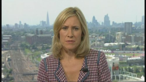 Sophie Raworth Presents from Olympic Park (5)