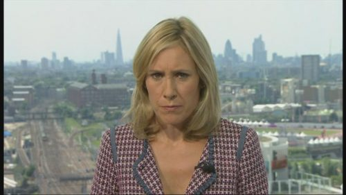 Sophie Raworth Presents from Olympic Park (6)