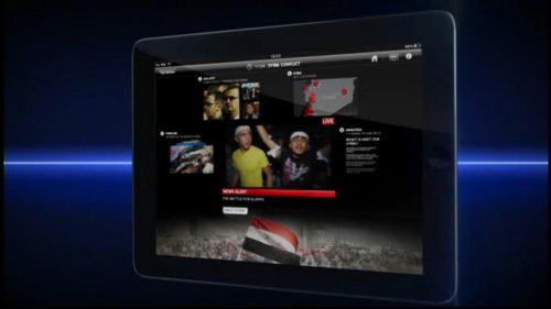 Sky News Promo 2012 - Stuart Ramsay, Syria, Online, iPad, Mobile (5)