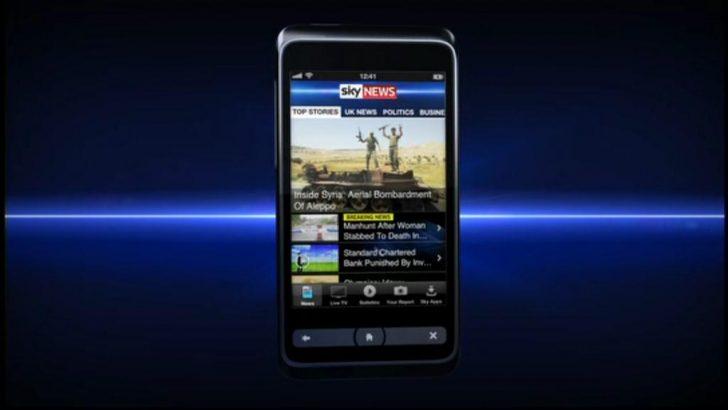 Sky News mobile apps surpass 10 million downloads