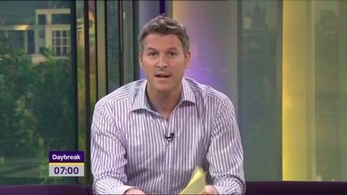 Dan Lobb will leave ITV Daybreak this morning