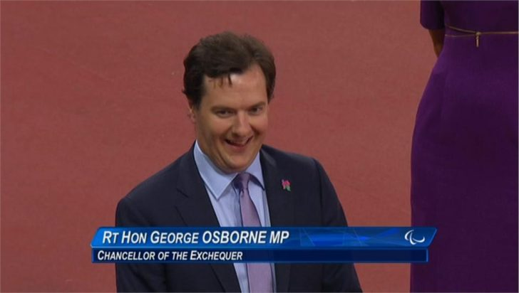 VIDEO: George Osborne Booed inside Olympic Stadium