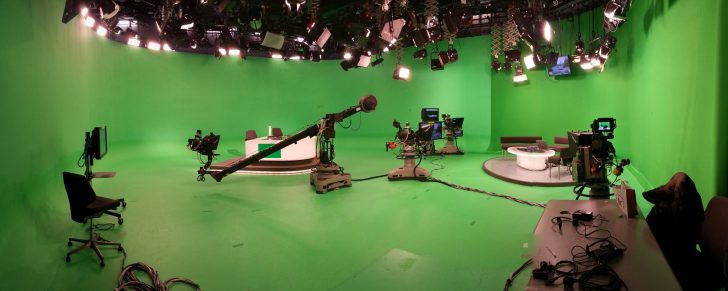 Images of London Tonight in ITN Studio 2