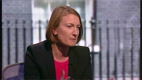 Allegra Stratton - ITV News Reporter (1)