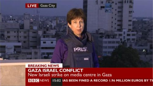 BBC News - Lyse Doucet in Gaza