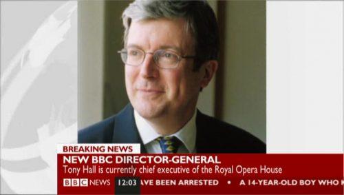 BBC NEWS - Tony Hall