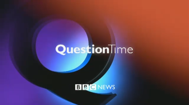 Who's on BBC 'Question Time' tonight? (22/11/12)