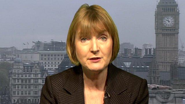 Harriet Harman to appear on 'The Agenda'