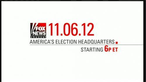 US Presidential Election 2012 - Fox News Promo (6)
