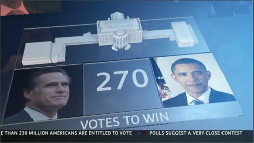 US Presidential Election 2012 - ITV (44)
