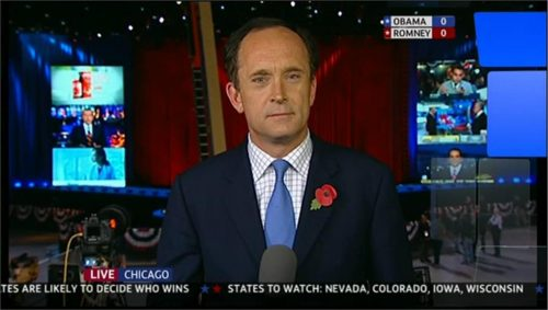 US Presidential Election 2012 - ITV (49)